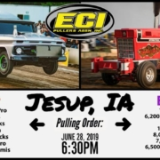 Jusup IA Tractor Pull ECIAP 6-28-19